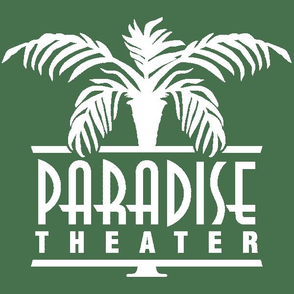 Paradise Theater logo white